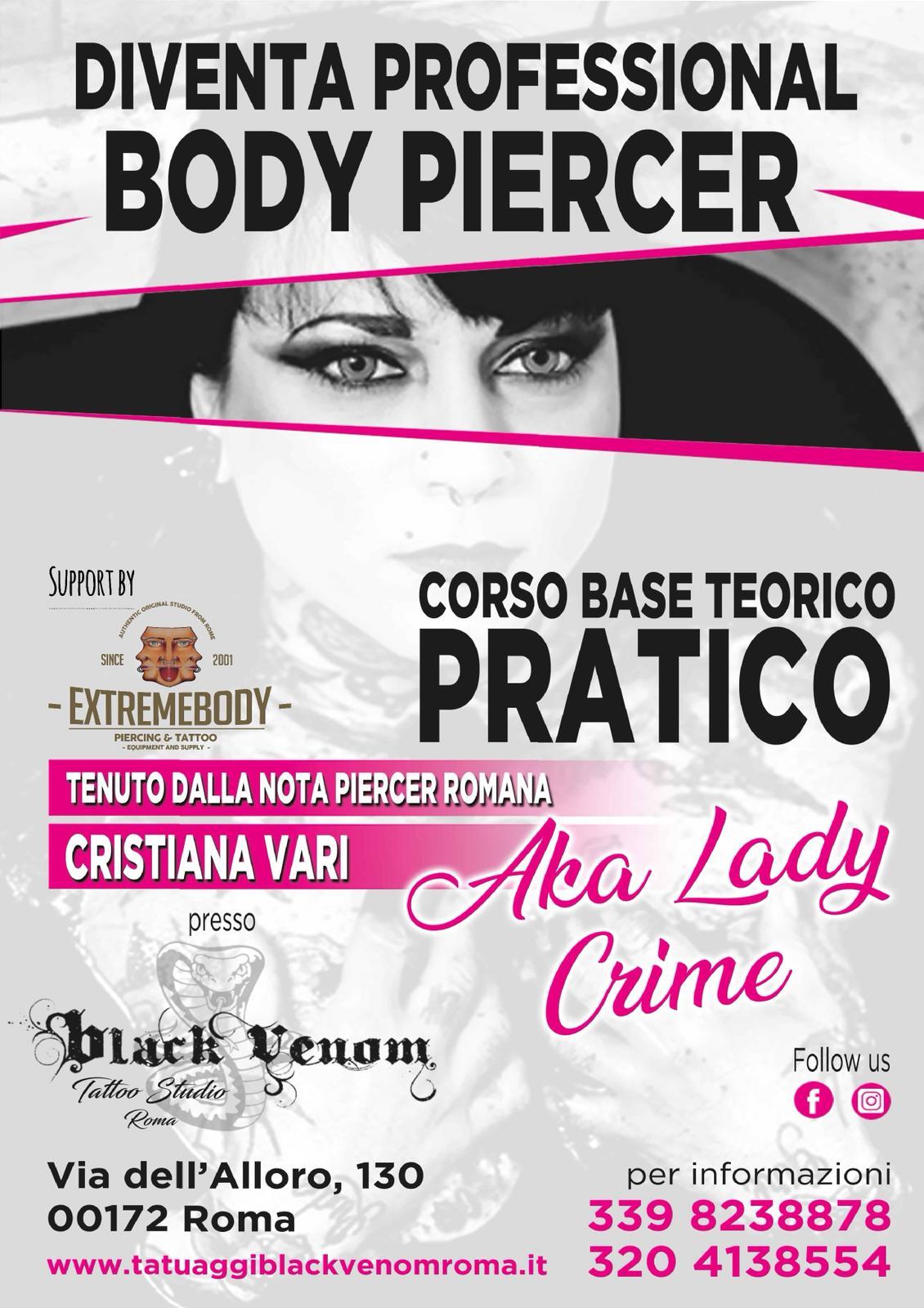 Corso Base Body Piercer