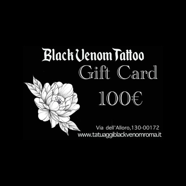 Tatuaggi Black Venom Roma | Buono Tattoo da 100€