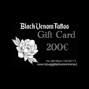 Gift Card Tattoo del Valore di 200€