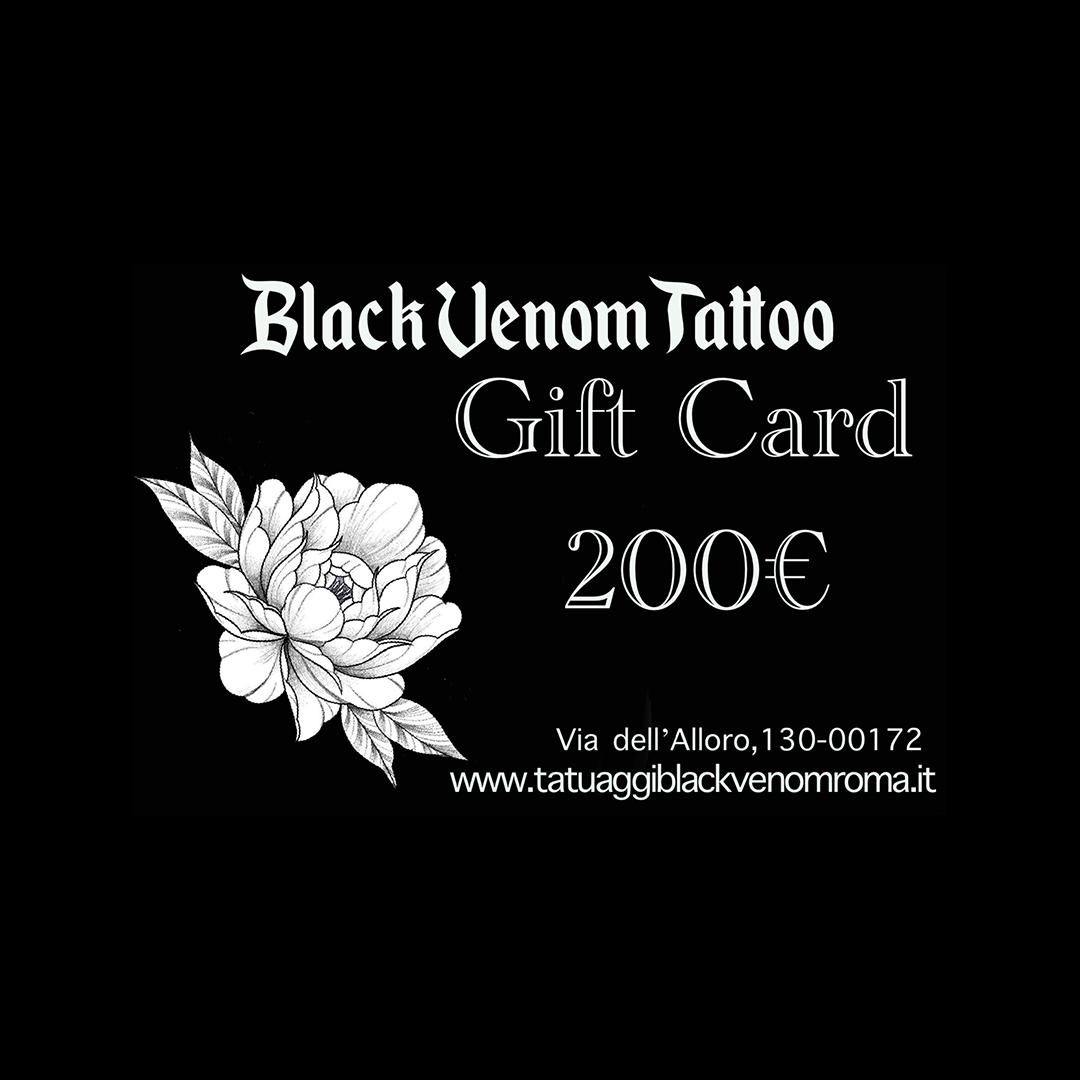 Tatuaggi Black Venom Roma | Buono Tattoo da 200€
